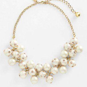 Kate Spade Polka Dot Pearl Swarovski Necklace